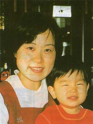 鍵谷 淳子さんと久美ちゃん