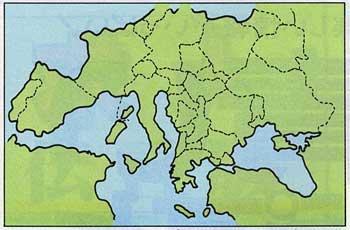 ヨーロッパ地図
