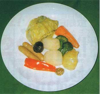 洋野菜のオリーブ風昧