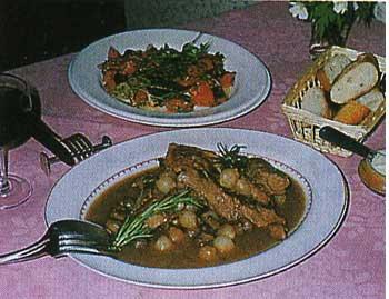 フランス家庭料理
