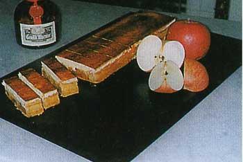 フランスのデザートのペシェ・ミニョン