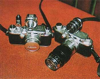 ヴィンテージカメラライカ2機