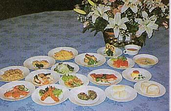フィットネスホテル330函館のクリスマスディナー