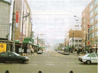 現在の大門の街並み