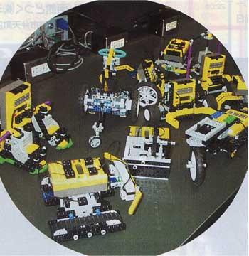 レゴで作った色々なロボット