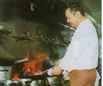 中華料理・廣河の松倉英明さん