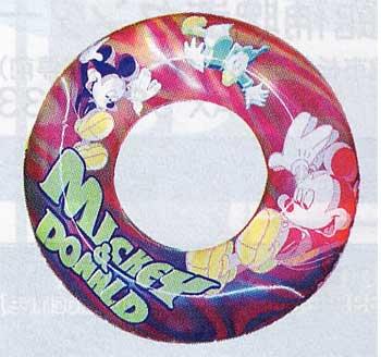 ミッキーうき輪