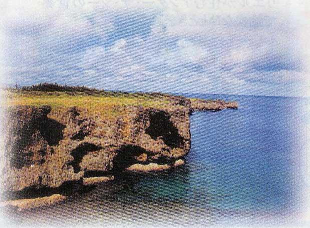 沖縄の万座毛