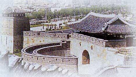 韓国の「水原華城」