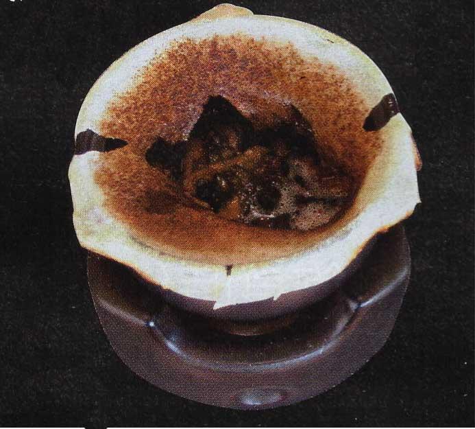 洋風創作料理いちばんの工スカルゴのポコポコ焼き