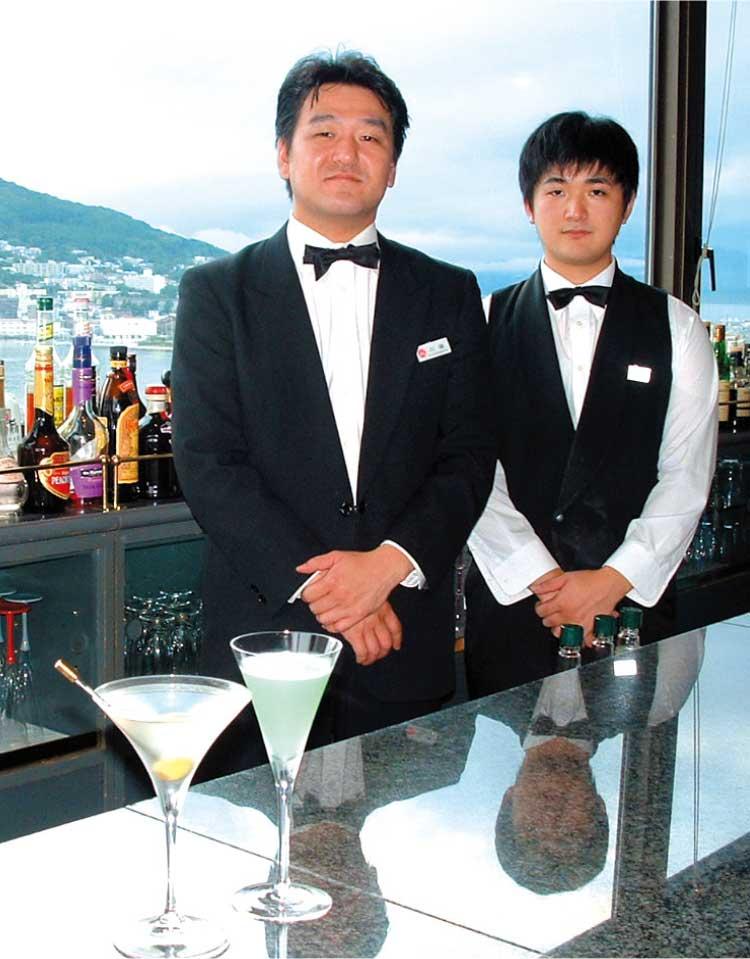 函館ハーバービューホテルエステラードの店員