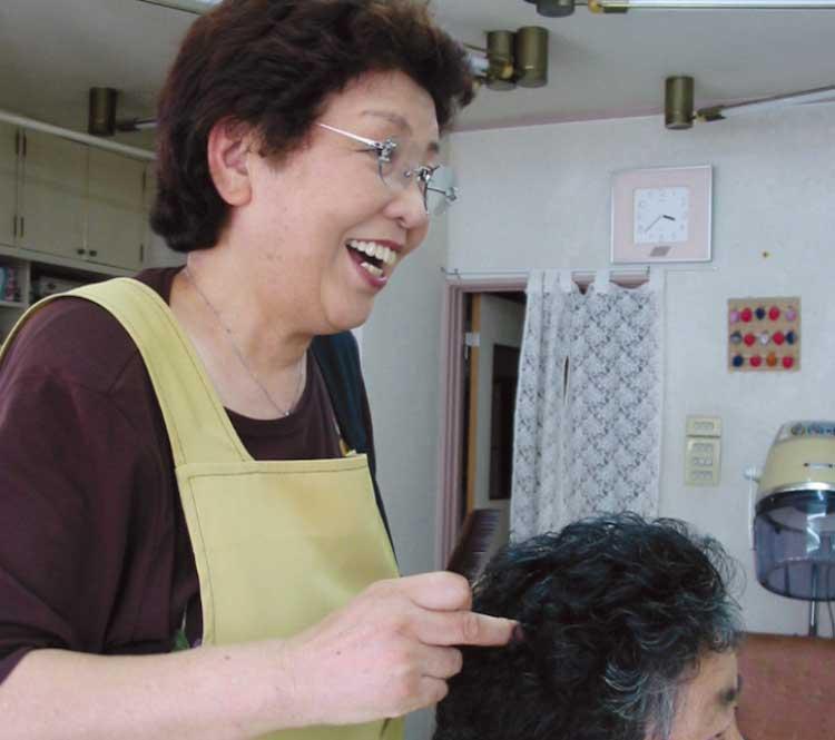いむら美容院の井村セツさん
