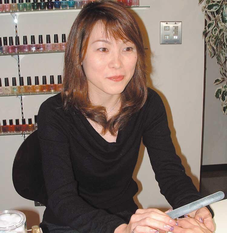 ネイリスト斉藤瑞枝さん