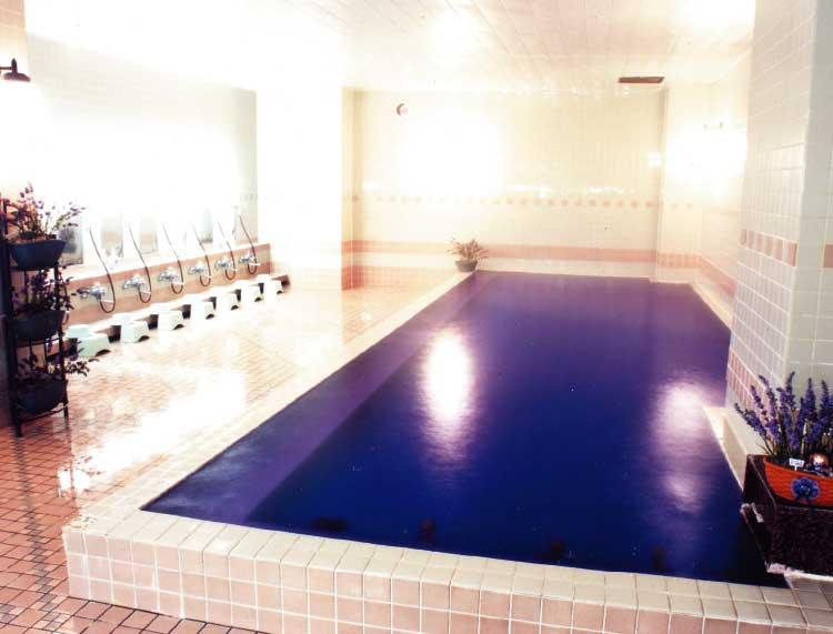湯の川観光ホテルのアロマ風呂香りの湯