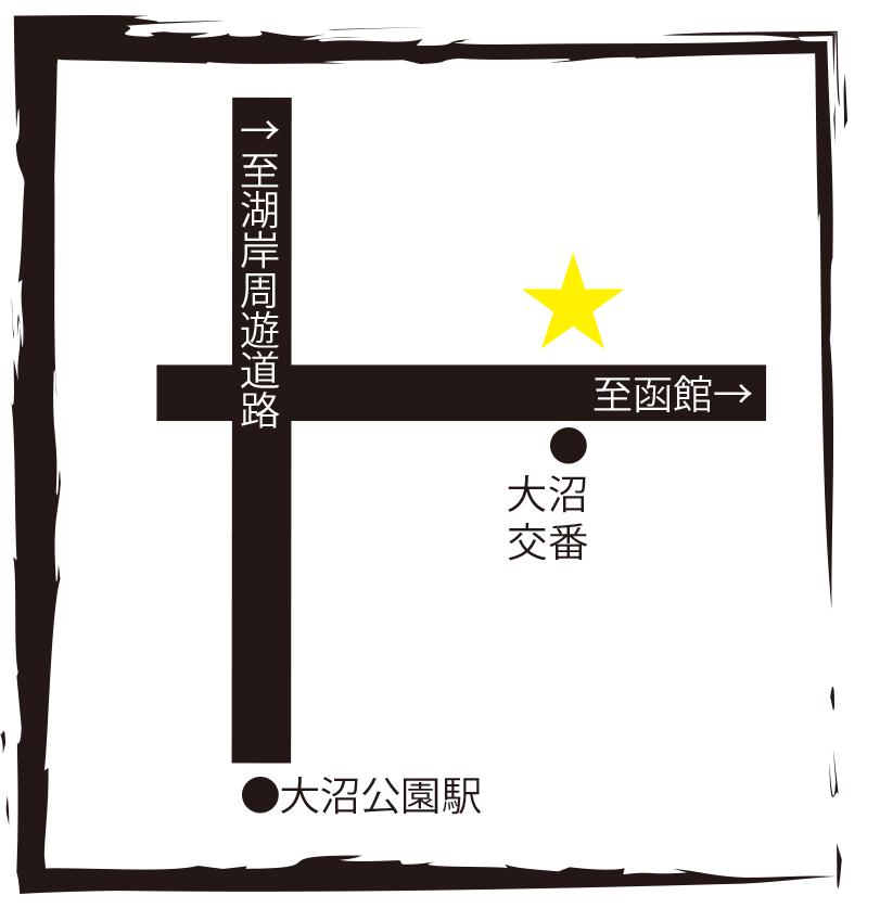 桃園飯店周辺地図