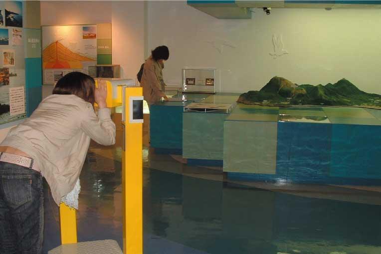 ピリカン館にあるミニチュア模型