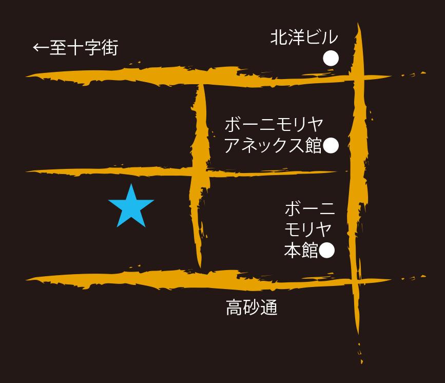 スープカレーパセリ周辺地図