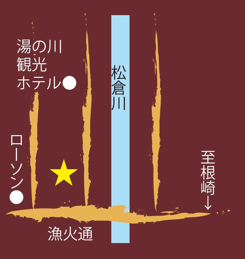 和菓子専門店若竹の周辺地図