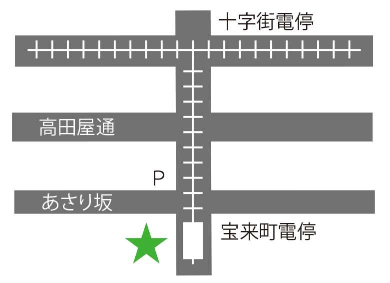 阿さ利周辺地図