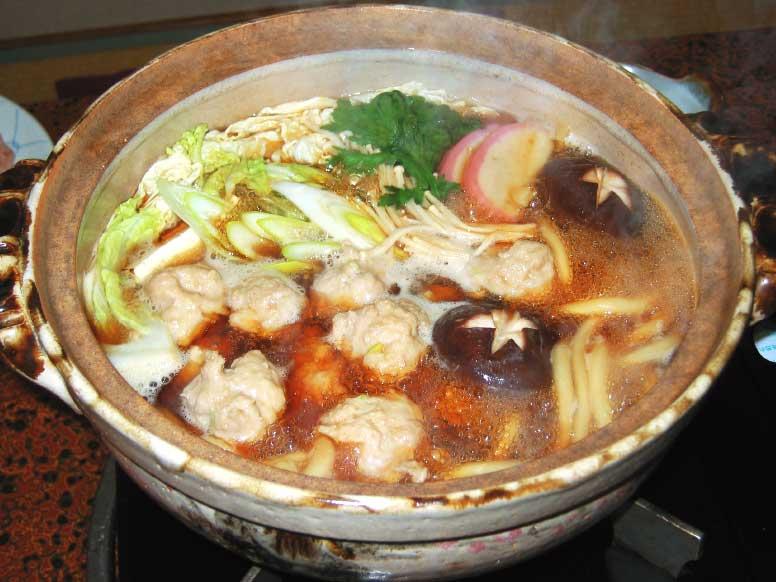 さかえ寿司高砂通支店の鶏たたき鍋