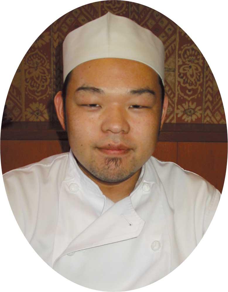 中華ダイニングロンファンの亀井純一郎さん