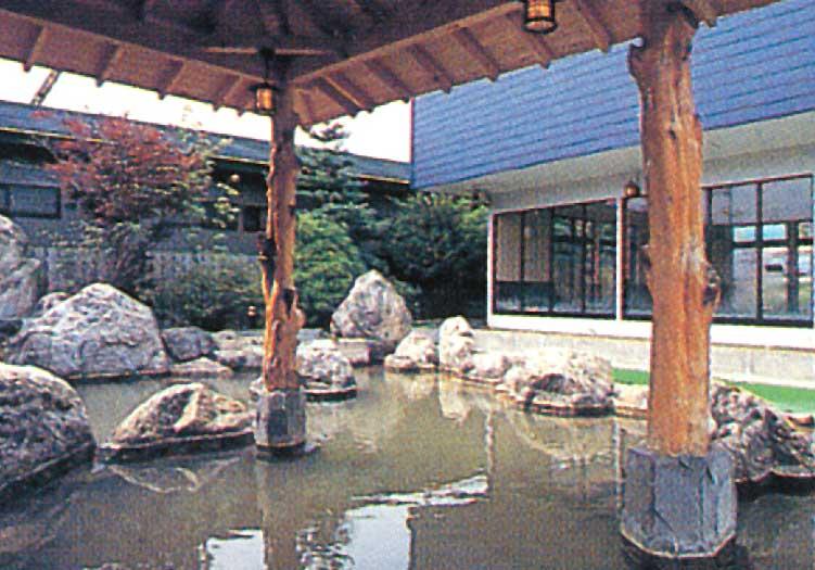 ふれあいの里カルデラ濁川温泉保養センターの露天風呂