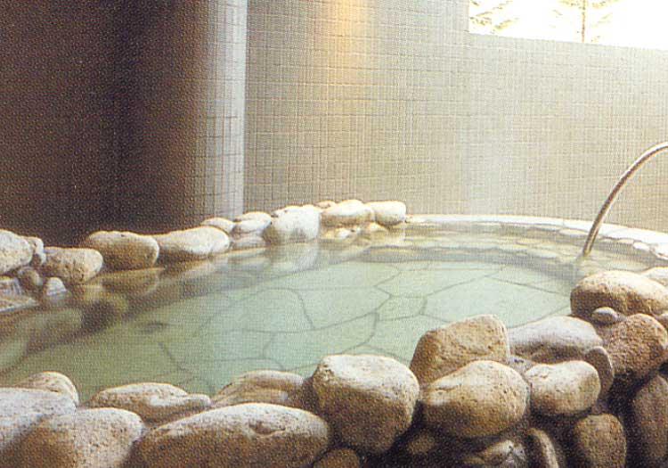 ニヤマ温泉あじさいの湯の浴場