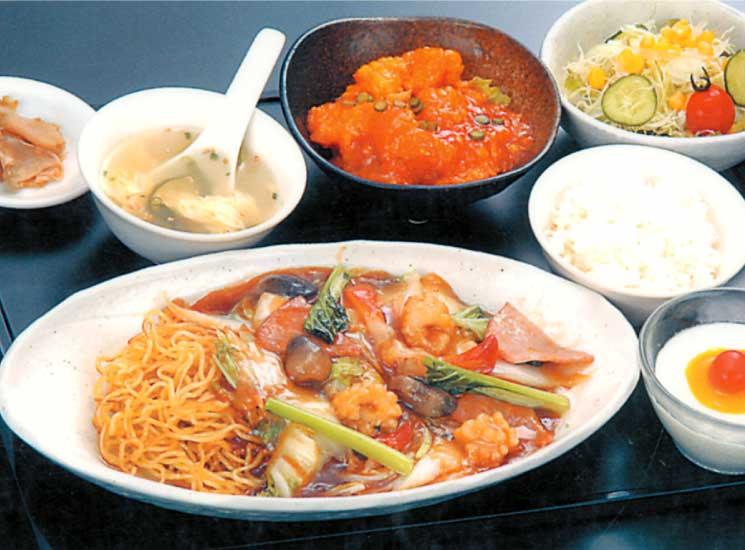 中国料理張家口の日替わりランチ