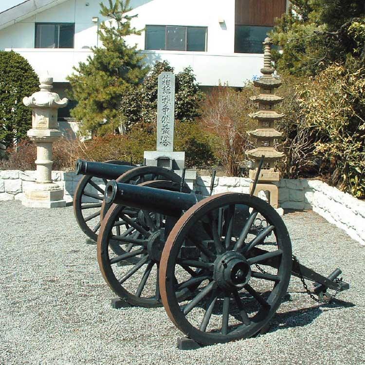 箱館戦争で使われた大砲