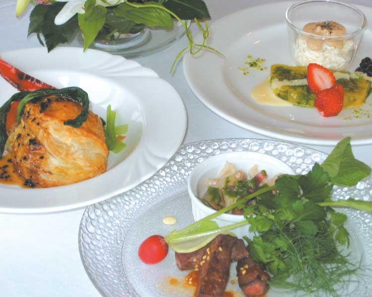 ブランヴェールのコース料理