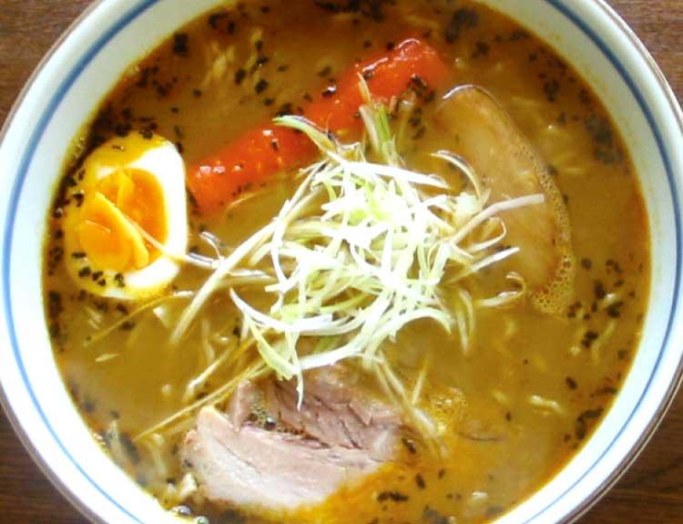 ラーメン専科麺次郎のスープカレーラーメン