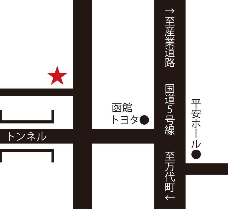 豆家周辺地図
