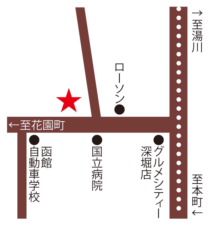 trattoria NISHIMURA周辺地図