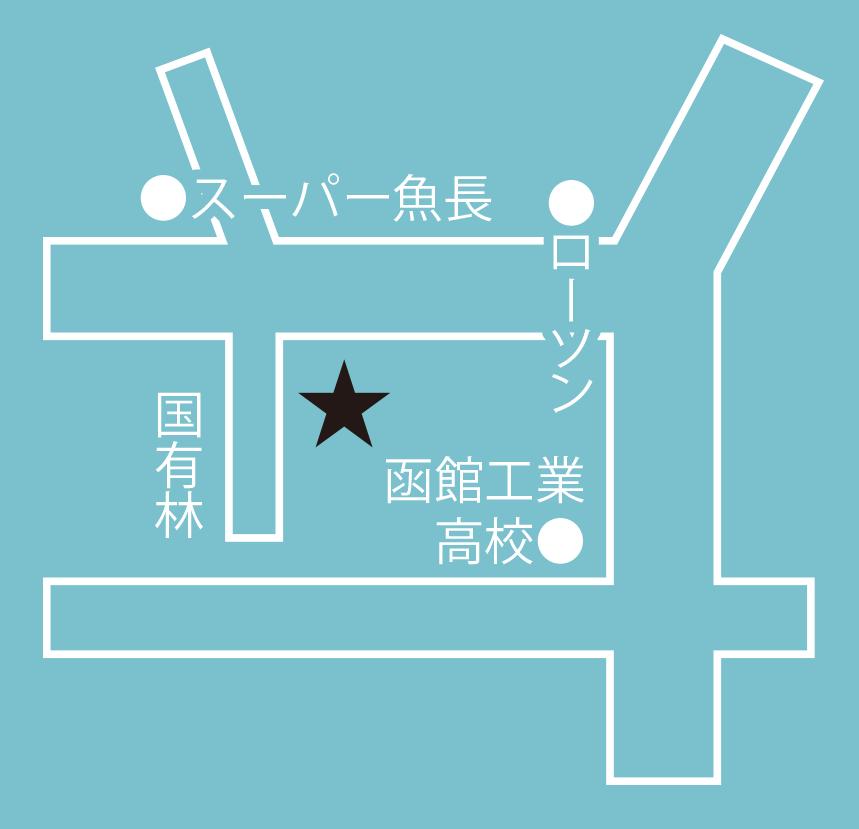 洋菓子店館周辺地図