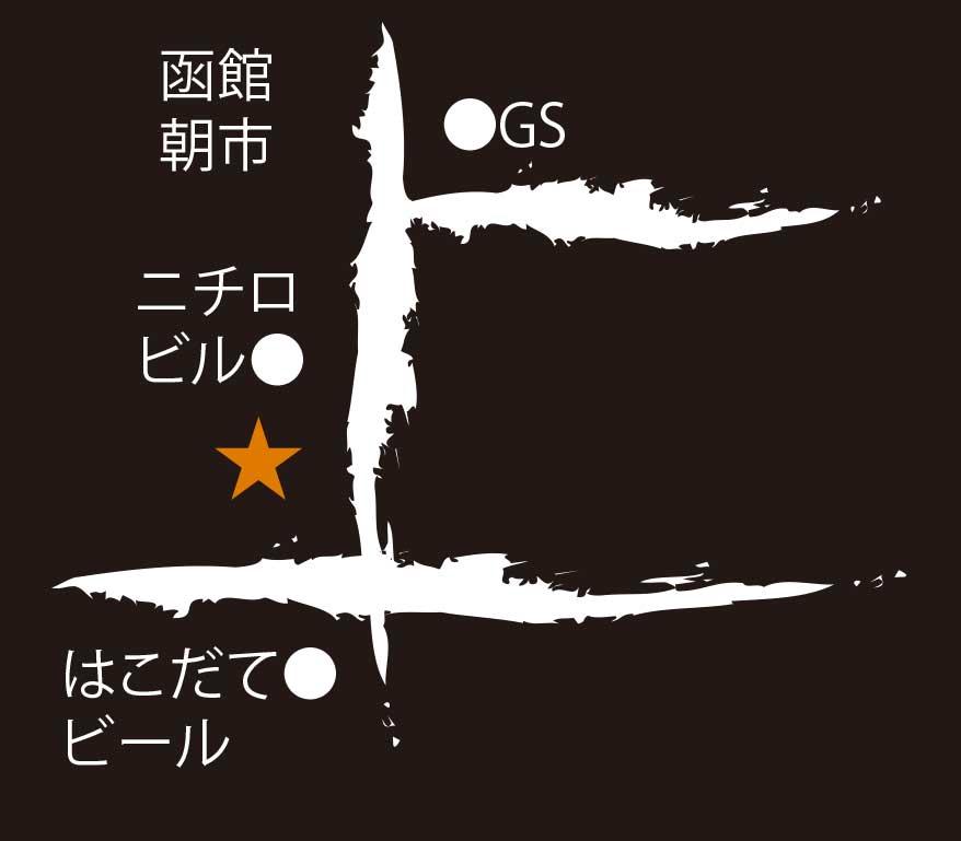 函館国際ホテル周辺地図