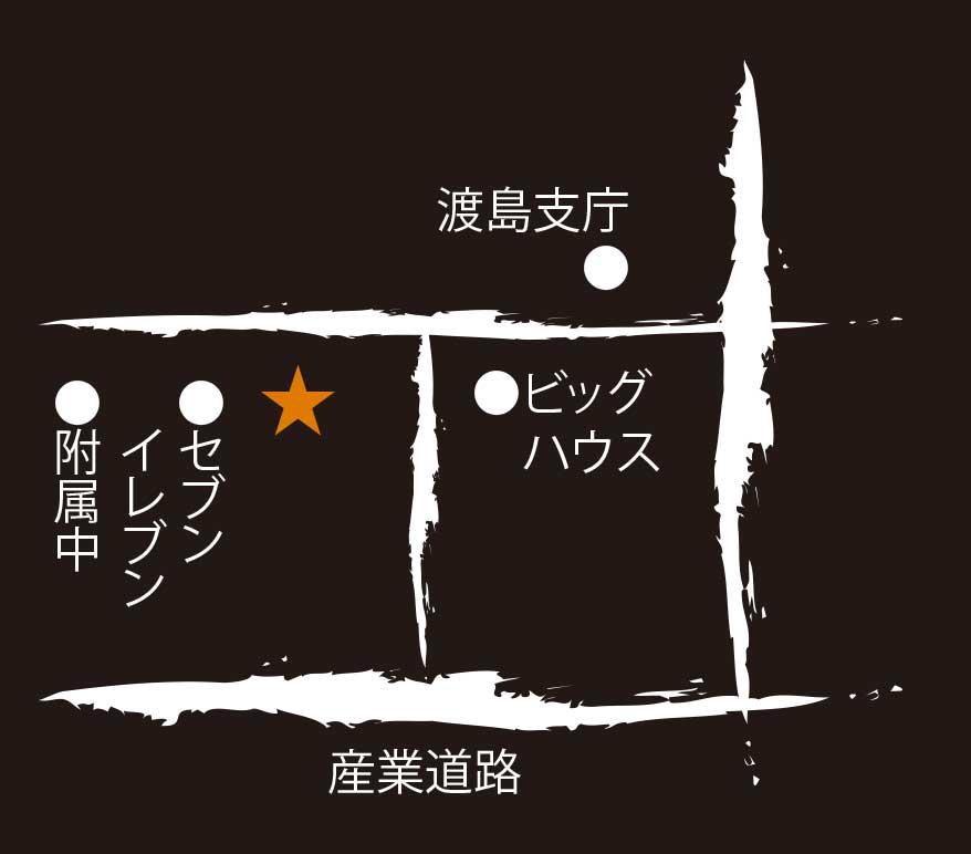 季節居酒屋ひろべ周辺地図