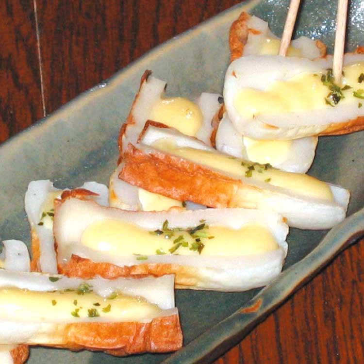 BARバンブーのちくわチーズ