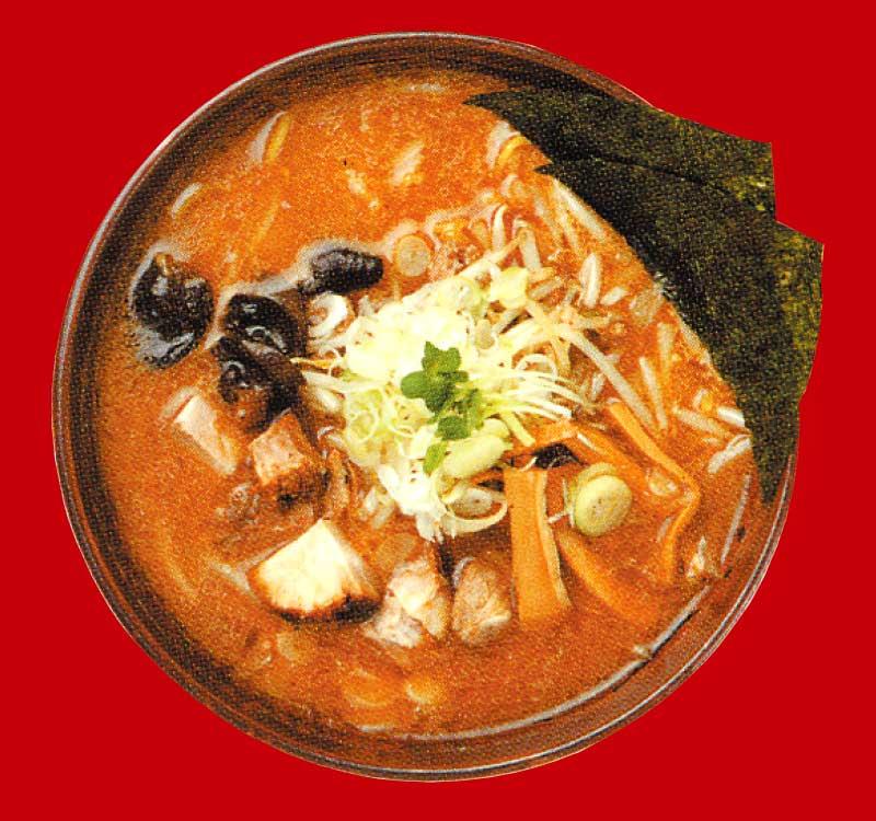 札幌ラーメン白樺山荘の味噌ラーメン