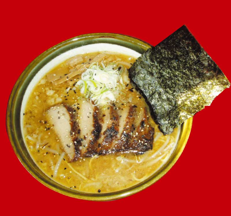麺屋しくぅはっくの焼き豚とろチャーシュー麺