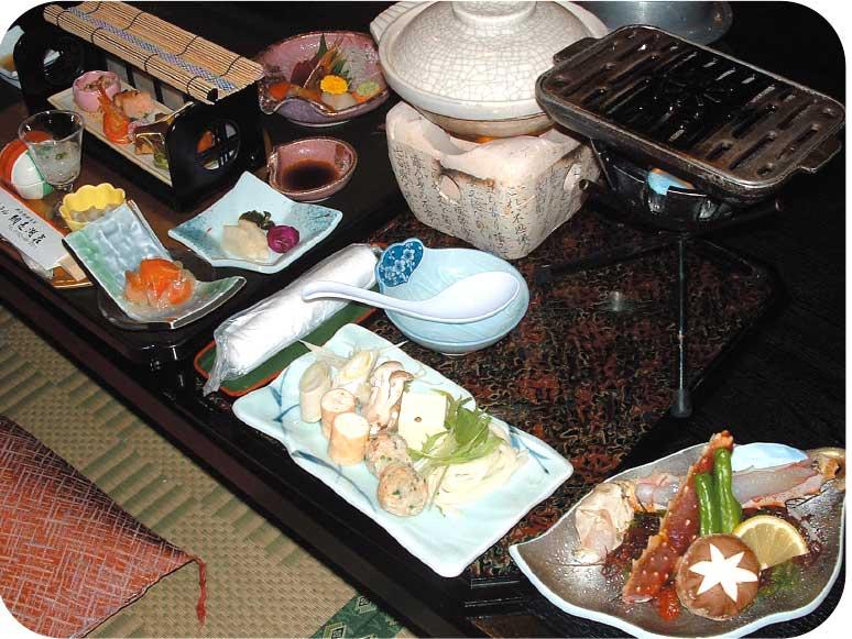 ホテル網走湖荘の料理