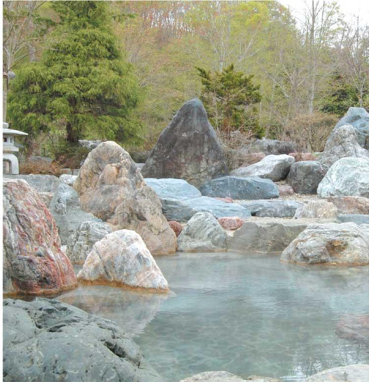 パシフィック温泉ホテル清龍園の露天風呂