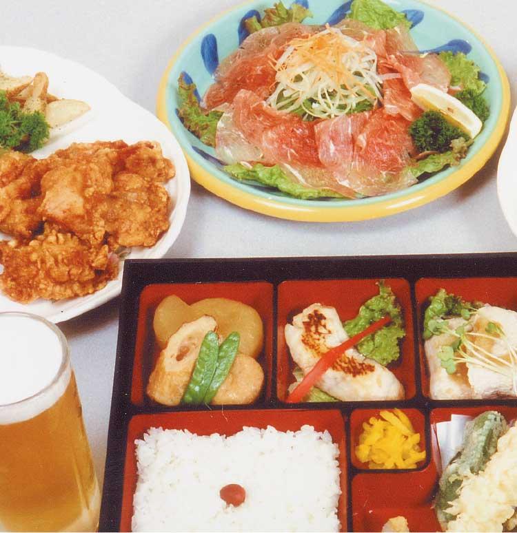 ゆうひの館宴会メニュー料理