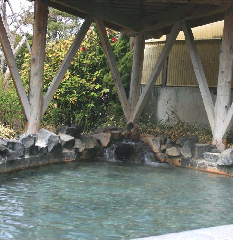 ゆうひの館露天風呂