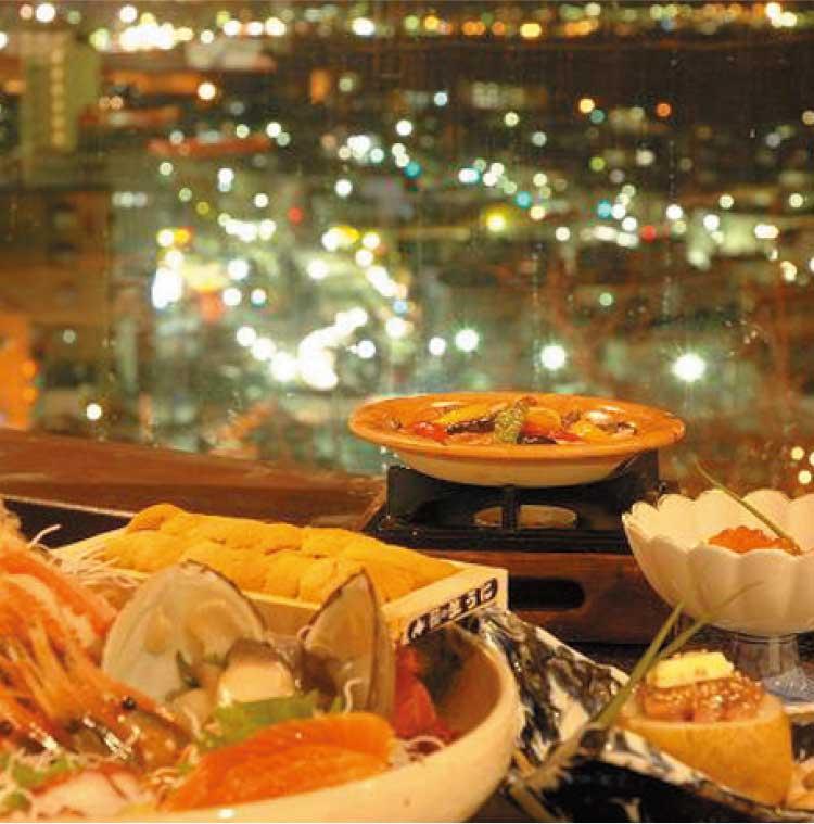 沙羅の月の月替わりのおすすめコース料理