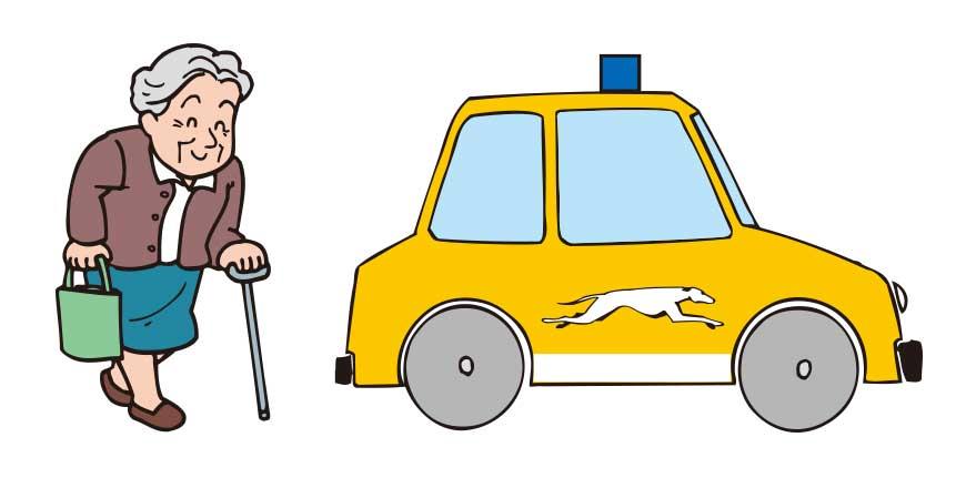 函館タクシー介護タクシーイメージ