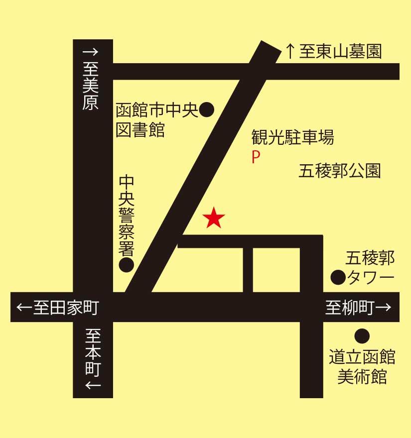松尾ジンギスカン周辺地図