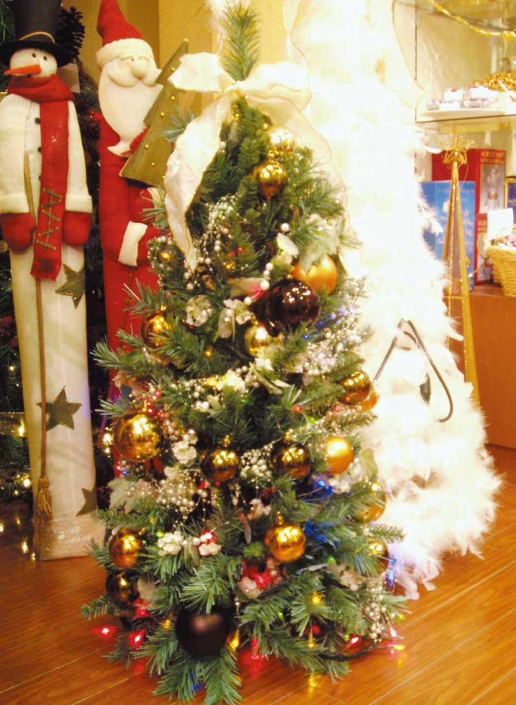 函館クリスマススクエアのクリスマスツリー