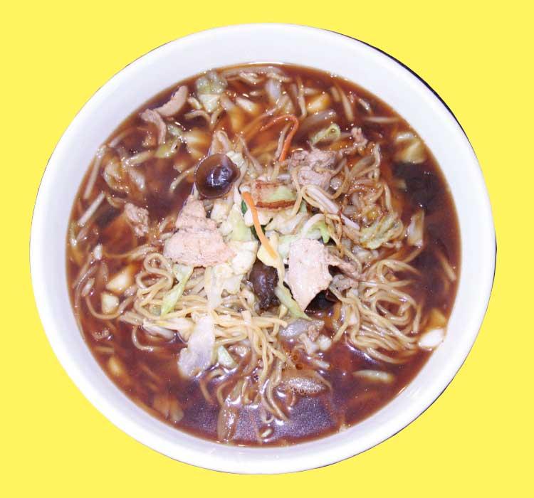 中国料理廣河のつゆ焼そば