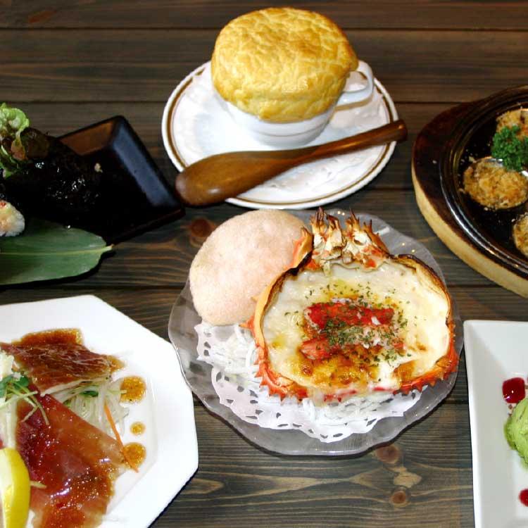 函館海鮮料理海光房の宴会プラン料理