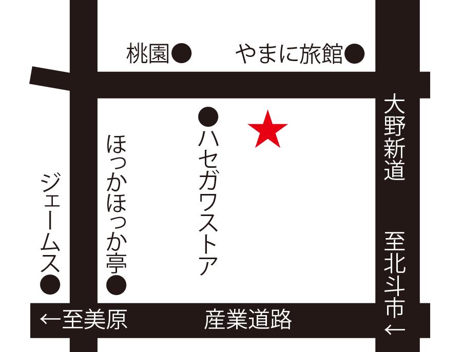 株式会社ジャパントレーディング函館周辺地図